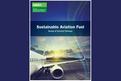 report cover: Sustainable Aviation Fuel | Review of Technical Pathways
